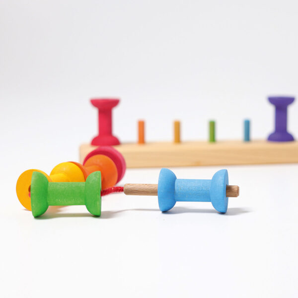 Thread Game Small Bobbins by Grimm's 2