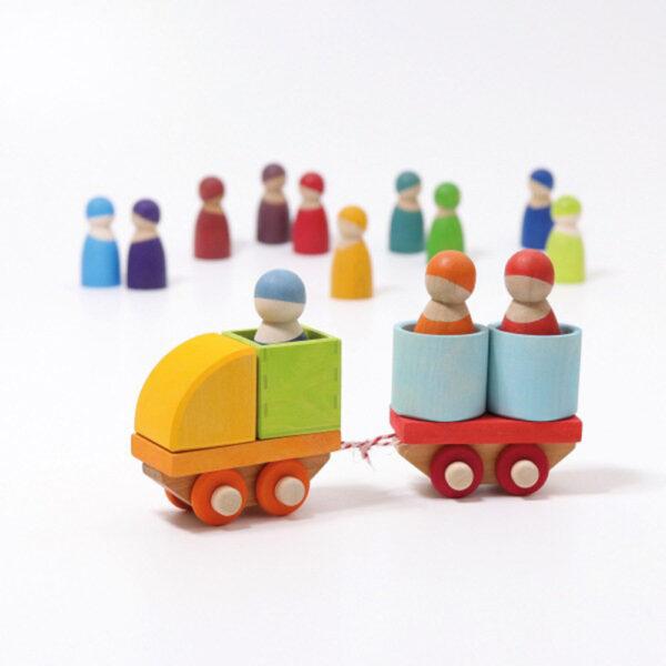 Train Building Set by Grimm's