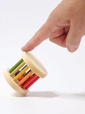 Rainbow Rolling Wheel Mini by Grimm