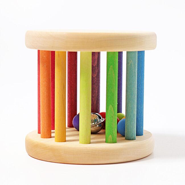 Rainbow Rolling Wheel by Grimm