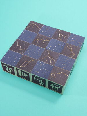 Uncle Goose Constellations Wooden Block Set