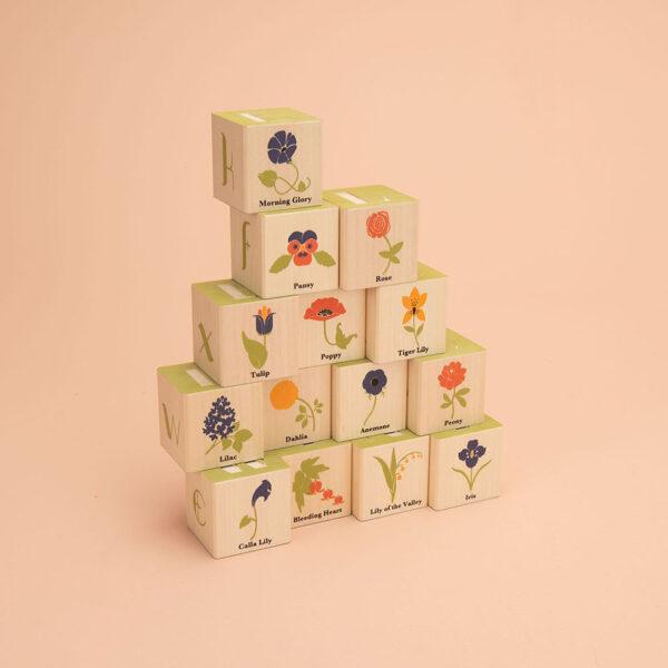 Uncle Goose Flower Blocks