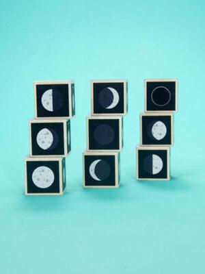 Uncle Goose Moon Phase Blocks