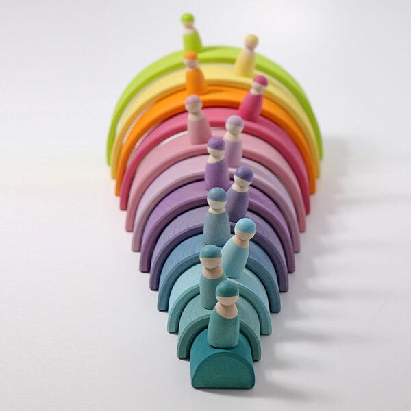 Element Rainbow Tunnel Pastel