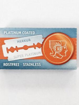 Merkur Super Platinum Double Edge Safety Razor Blades 10 pack 2