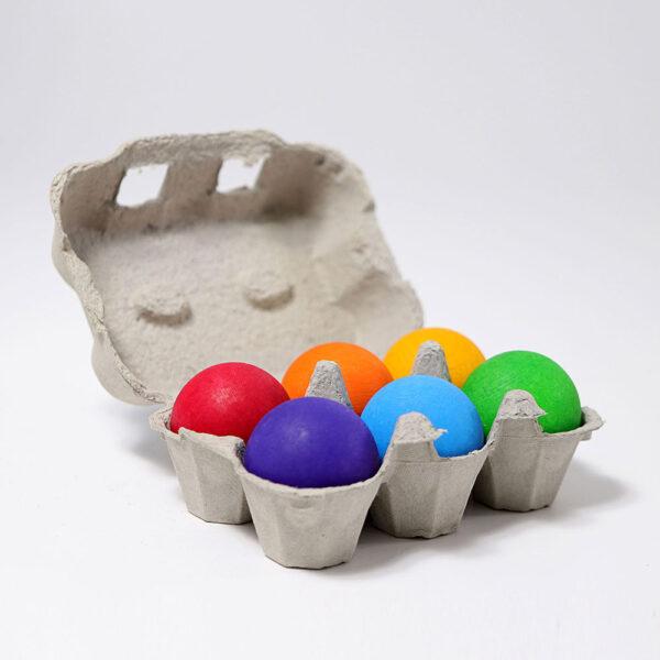 Rainbow Balls by Grimm's 2