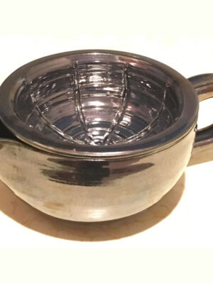 Shaving Scuttle Hand-Made Antique Brass 3