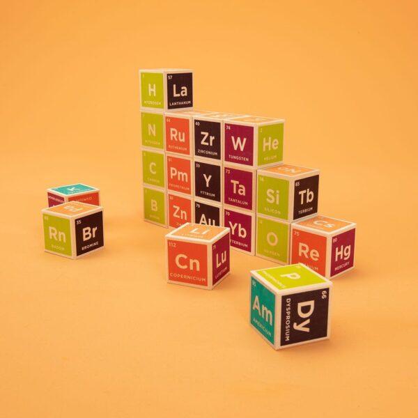 Uncle Goose Elements Wooden Block Set 2