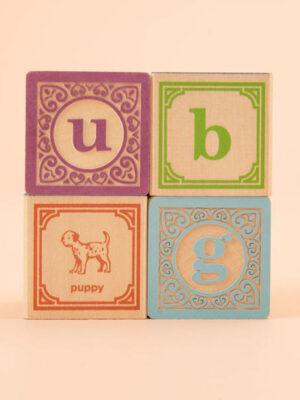 Uncle Goose Classic Lowercase ABC Blocks