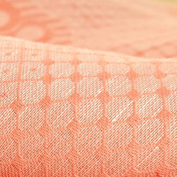 DIDYMOS Pfau Apricot Hemp Woven Baby Wrap