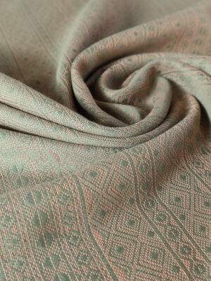DIDYMOS Prima Olive-Apricot Woven Baby Wrap