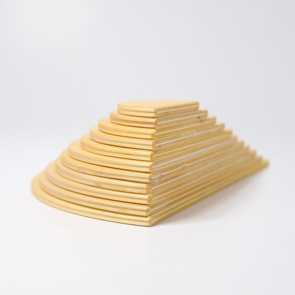 Semi Circle Natural Wooden Boards by Grimm 2