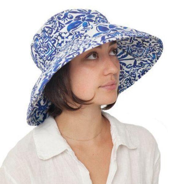 Puffin Gear UPF50 Sun Protection Courtyard Garden Classic Hat-Mo