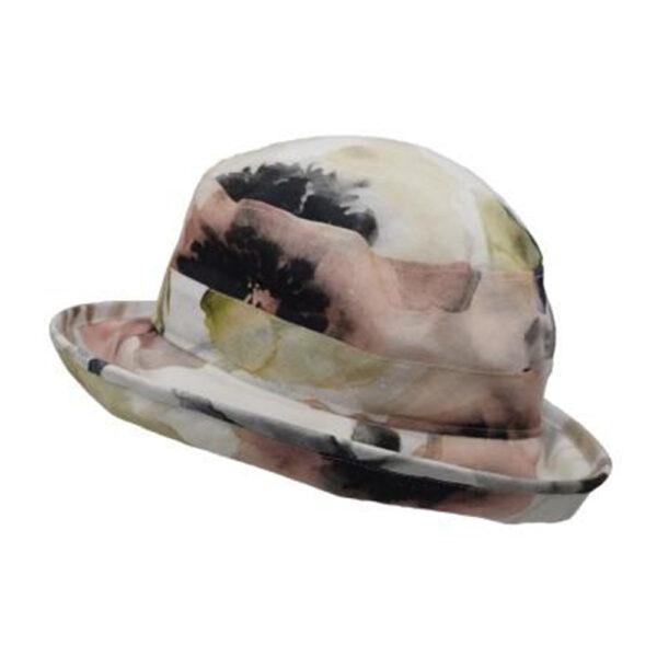 Puffin Gear UPF50 Sun Protection Bowler Hat-Courtyard Garden-Blo