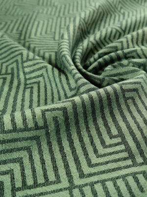 DIDYMOS Metro Olive Anthracite Woven Baby Wrap