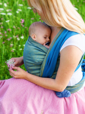 DIDYMOS Doubleface Agave Hemp Blend Woven Baby Wrap