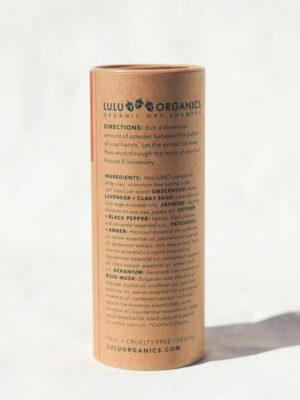 Lulu Organics Dry Shampoo Ingredients