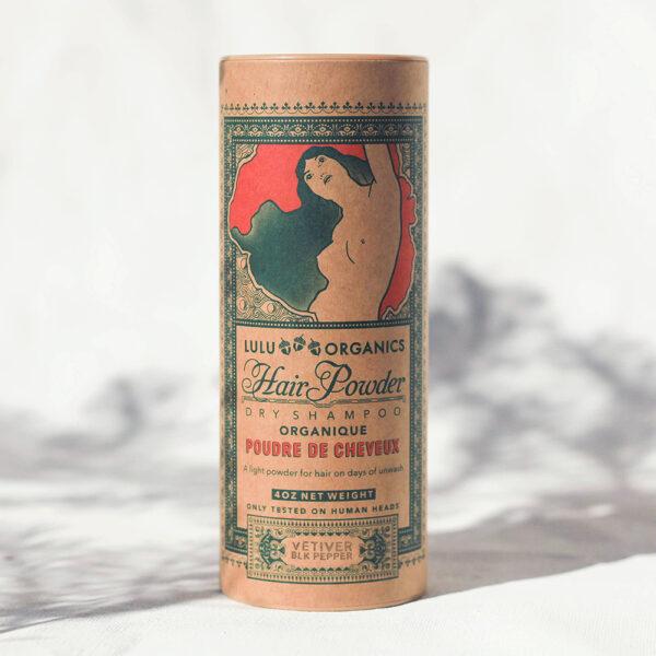 Lulu Organics Dry Shampoo Vetiver and Black Pepper