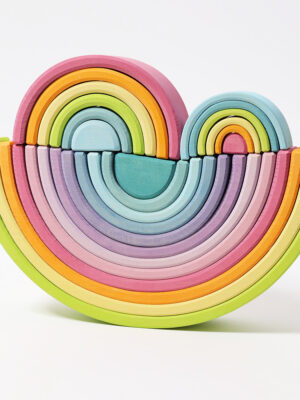 Element Rainbow Tunnel Pastel Small by Grimm