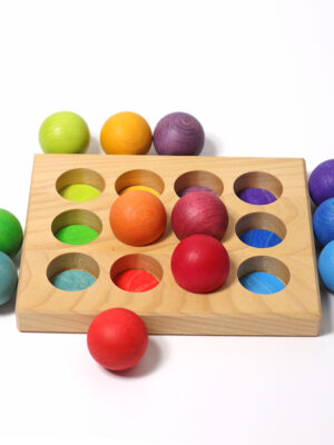 Sorting Board Rainbow by Grimm