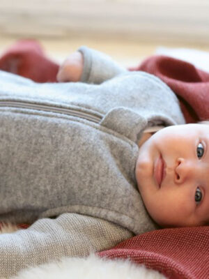 Disana Organic Wool Cotton Sleeping Sack Grey